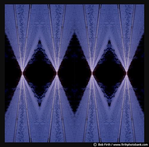 art;composite;creative;detail;photo;repeating pattern;railroad tracks