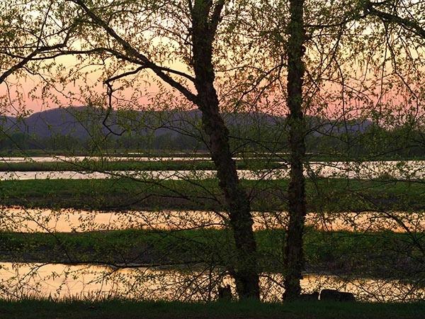 Goose Island Park near La Crosse, Wisconsin