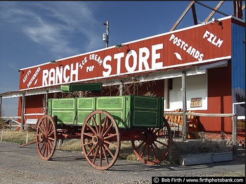 Badlands SD Store and Wagon